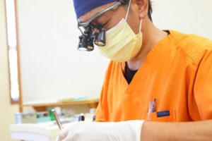 口腔内検査(オフィスホワイトニング)